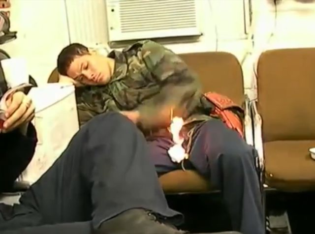 Never Feel Asleep in the Military!