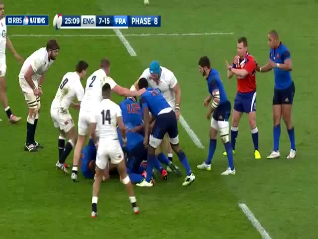 Violent Tackle During Rugby Game  (VIDEO)