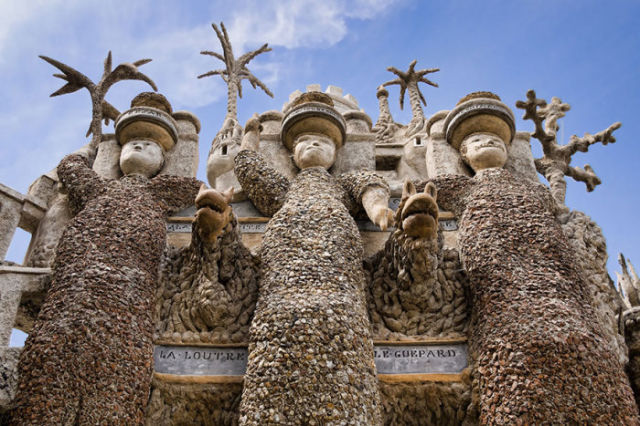 The Real Pebble Palace That the Postman Built