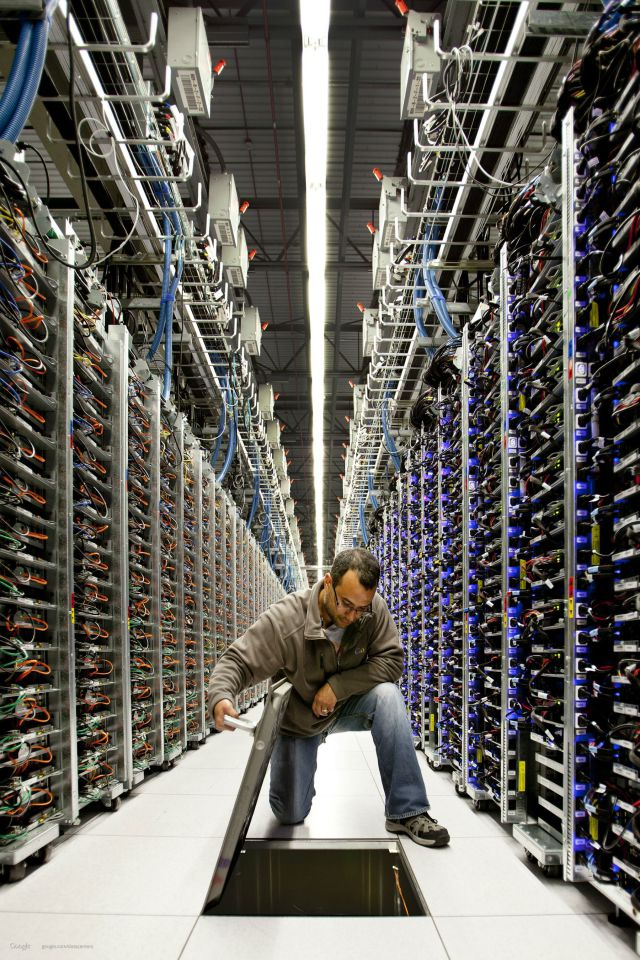Google's Data Centers Are Out of This World