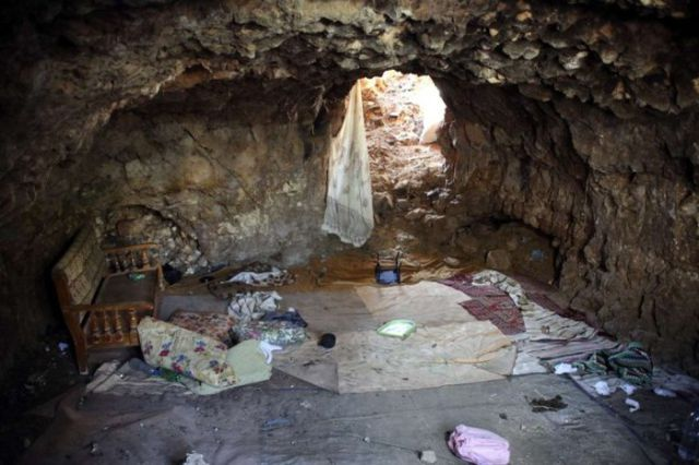 Pictures of Syrian Rebel Caves