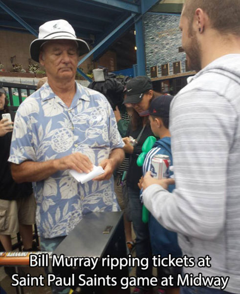 Bill Murray Is One Cool Guy