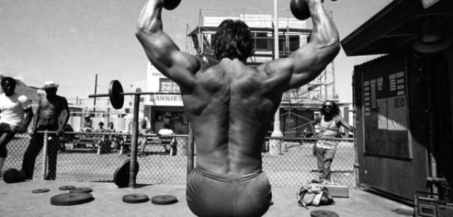 Old Rarely Seen Snaps of Arnold Schwarzenegger