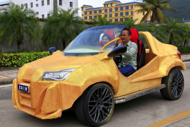 A Fully Operational Printed Car Is Printed in China