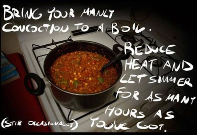 How to Make the Perfect Chili in the Middle of the Night
