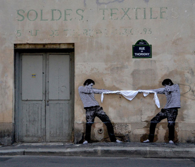 French Street Art That Will Make You Look Twice