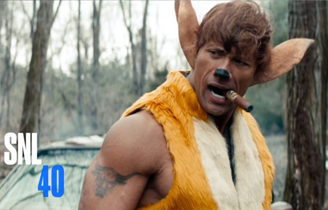 The Rock Plays a Badass Version of Bambi in This Fake Action Movie Parody