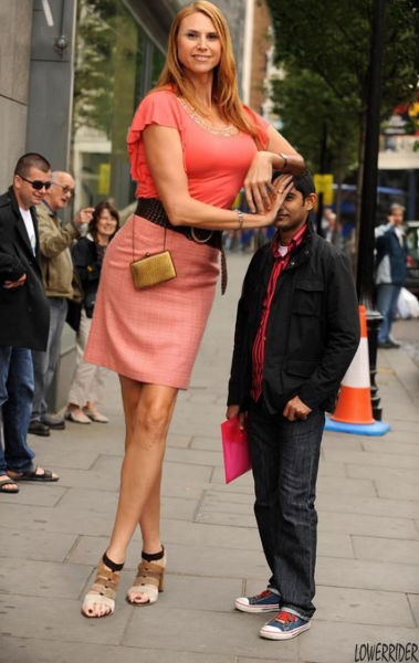 The Tallest Model in the World