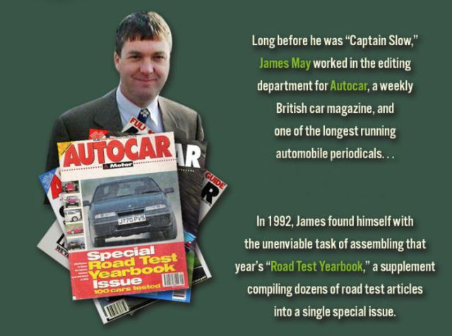 James May's Secret Magazine Troll