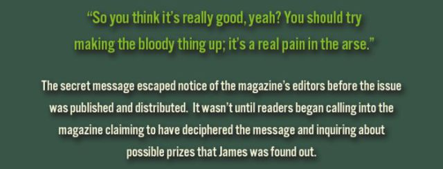 James May's Secret Magazine Troll