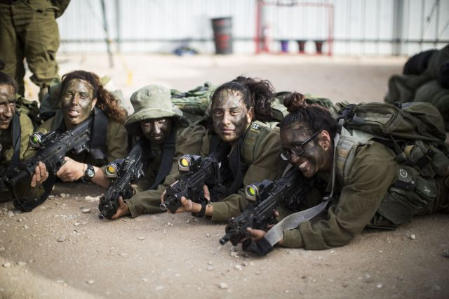 The Beautiful Faces of the Israeli Army