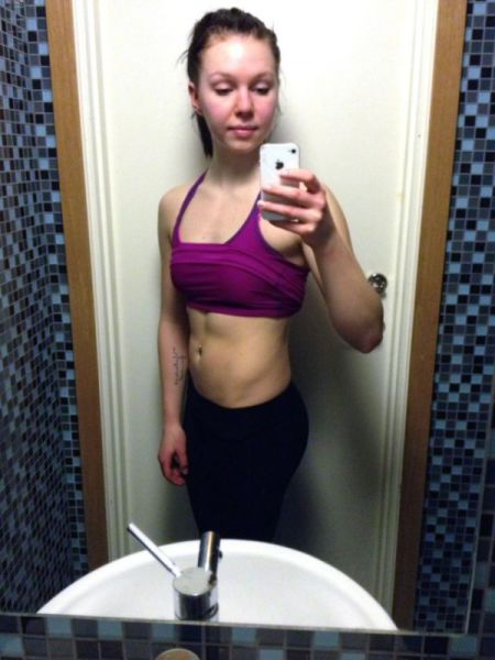 Girl Goes from Super Skinny to Strong