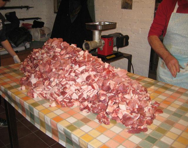 How Real Homemade Italian Salami Is Made