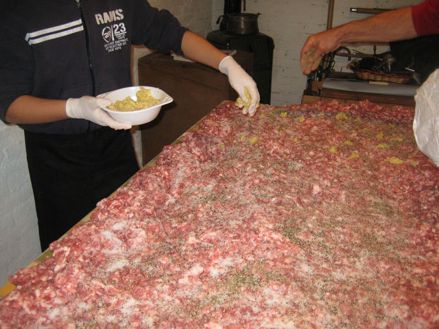 How Real Homemade Italian Salami Is Made