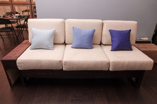 A Homemade Sofa That Is Even Better Than Anything You Could Buy in the Store