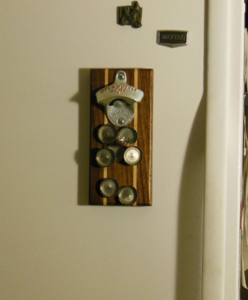 A Magnetic Bottle Opener That Is Pure Genius