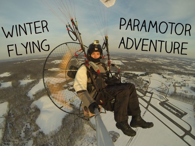 Huge Fan + Parachute = Awesome Aerial Adventures