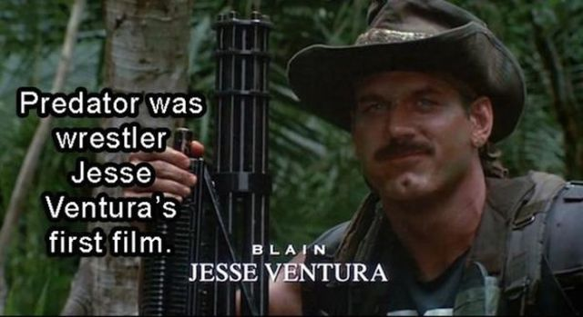 "Little Known Facts about the Movie ""Predator"""
