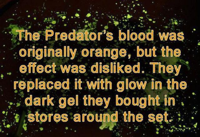 """Little Known Facts about the Movie """"Predator"""""""