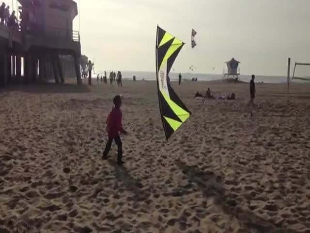 This Guy Has Some Stunning Kite Skills  (VIDEO)