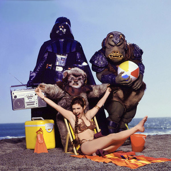"A Quirky Photo Spread of ""Star Wars"" in the Rolling Stone Magazine"
