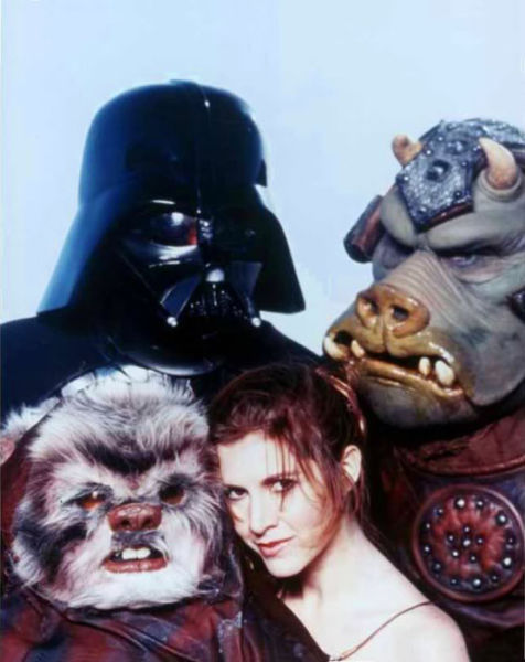 """A Quirky Photo Spread of """"Star Wars"""" in the Rolling Stone Magazine"""