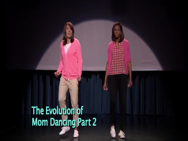 Evolution of Mom Dancing with Michelle Obama and Jimmy Fallon - Part 2  (VIDEO)
