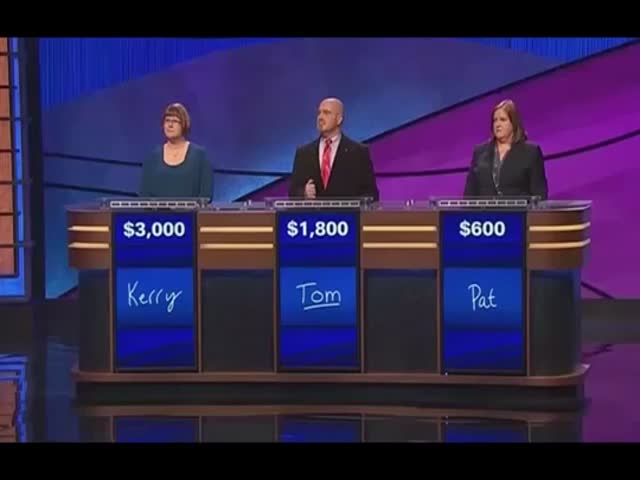 Jeopardy Can Get Awkward Real Fast  (VIDEO)
