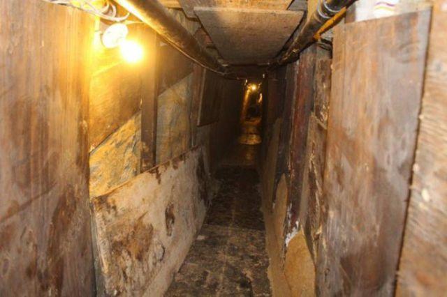 A Secret Drug Smuggling Tunnel