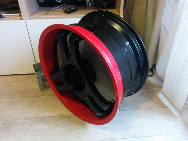 A Car Rim Conversion into a Cool PC Case