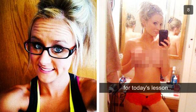Snapchat Lands Student Teacher in Big Sh#t