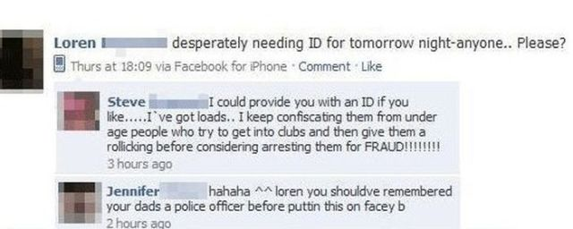 Criminals Get Bust by Dumb Facebook Posts