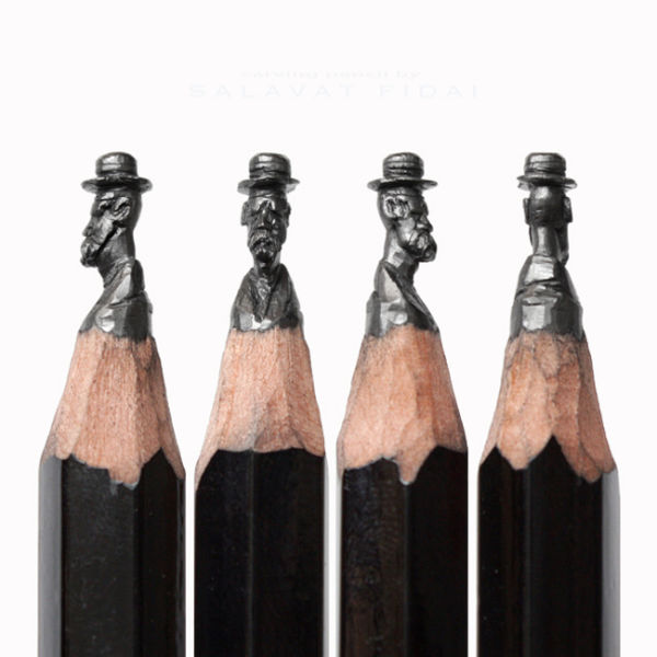 Impressive Pencil Lead Artworks That Are Extraordinarily Detailed