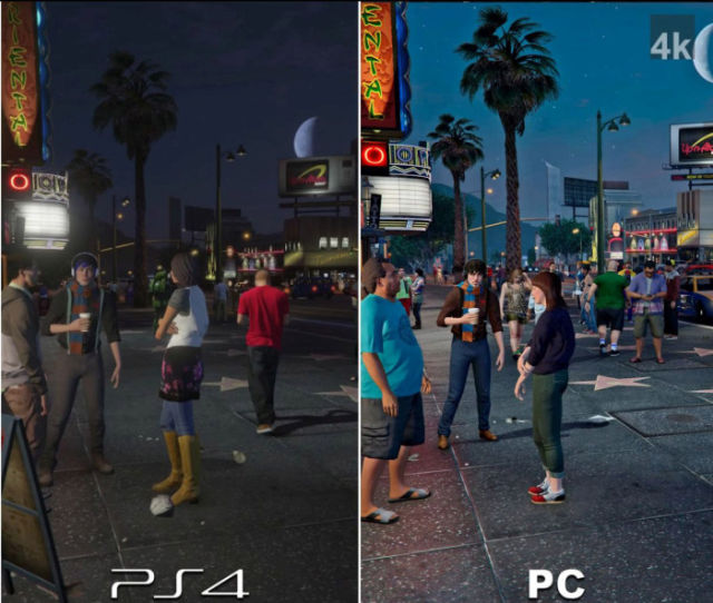 GTA 5: PC Graphics vs. Playstation Graphics in the Ultimate Showdown