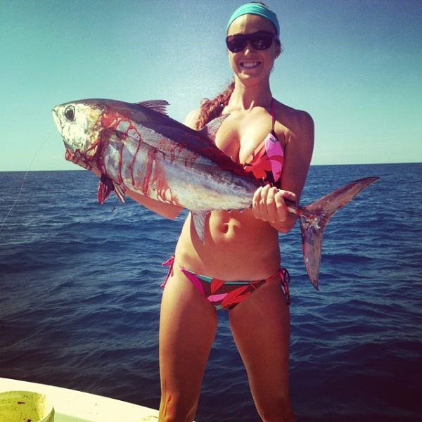 The Hottest Fisher-woman in the World