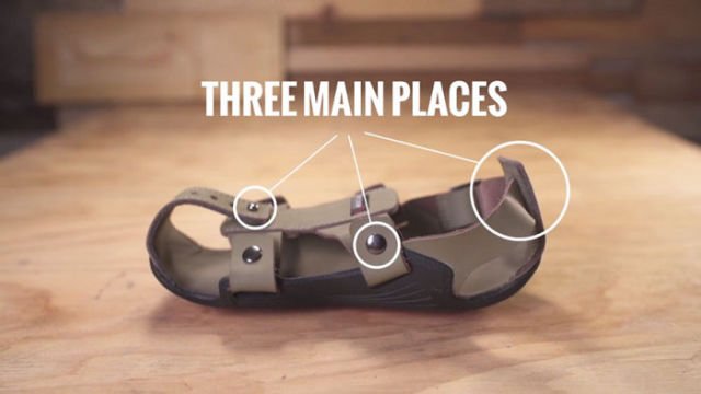 The Shoes That Can Grow with Your Own Feet