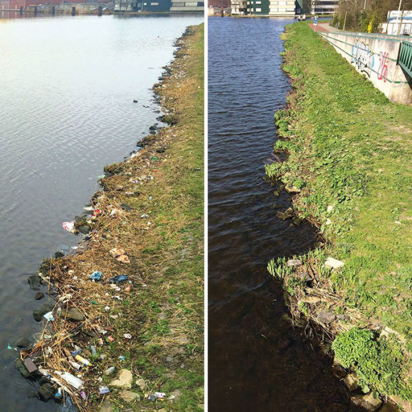 One Man's Personal Mission to Clean Up the City