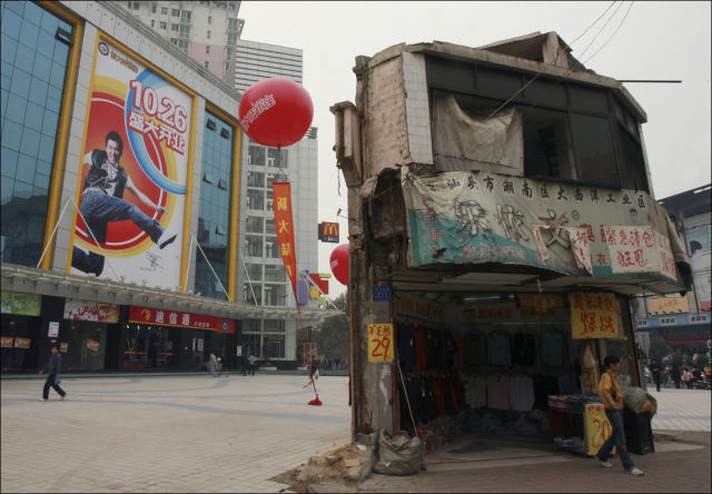 Ordinary People Protest against Developers in China