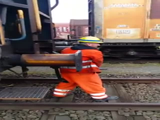 Dangerous Train Coupling