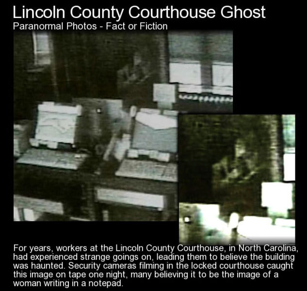 Eerie Photos of Ghosts Caught on Camera