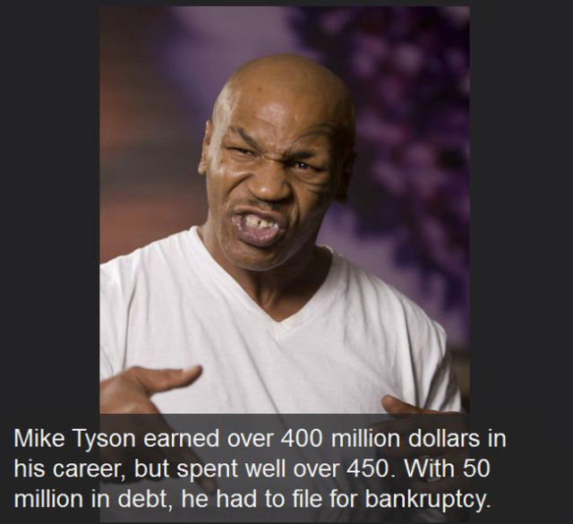 Famous People Who Have Gone from Riches to Rags