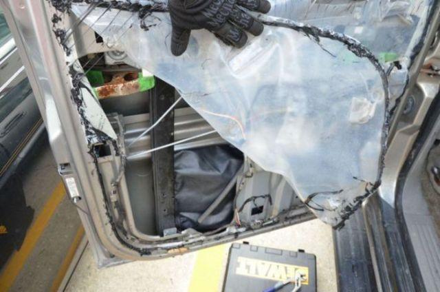 One Man Uncovers Amazing Surprise in His Car Door