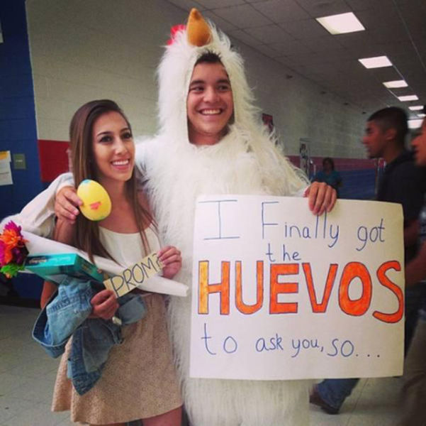 Wacky And Way Over The Top Prom Proposals 20 Pics