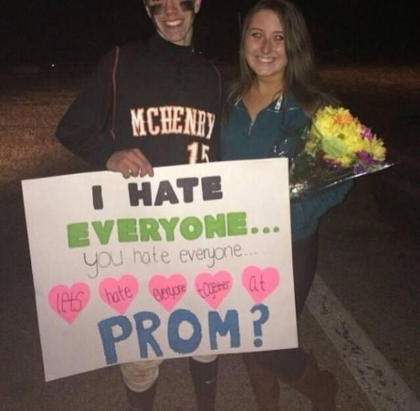 Wacky and Way Over-the-top Prom Proposals