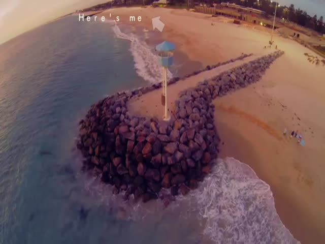 Guy Saves Drone at the Very Last Second  (VIDEO)