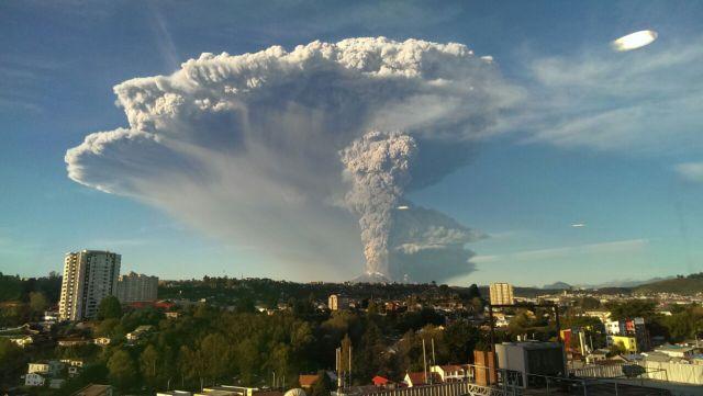 Massive Volcano Eruption in Chile