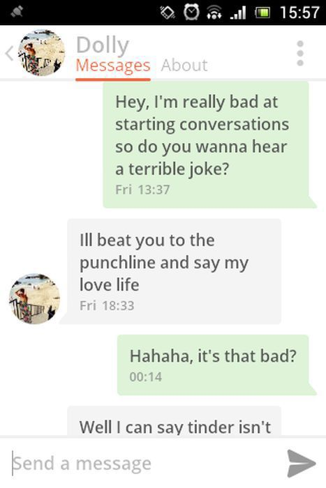 A Hilarious Tinder Conversation That Has a Surprising Ending