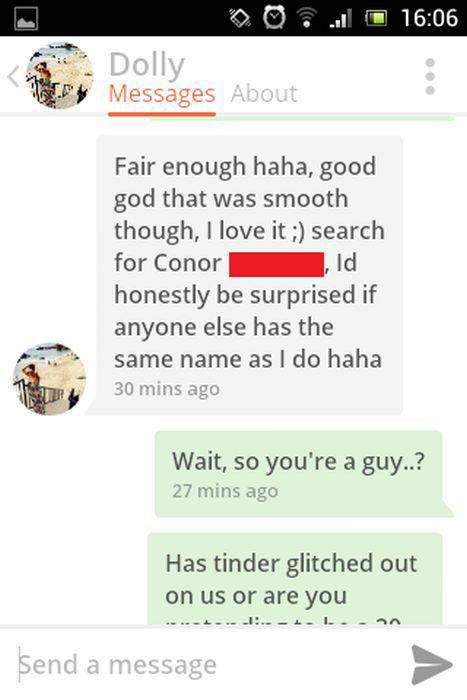 A Hilarious Tinder Conversation That Has a Surprising Ending