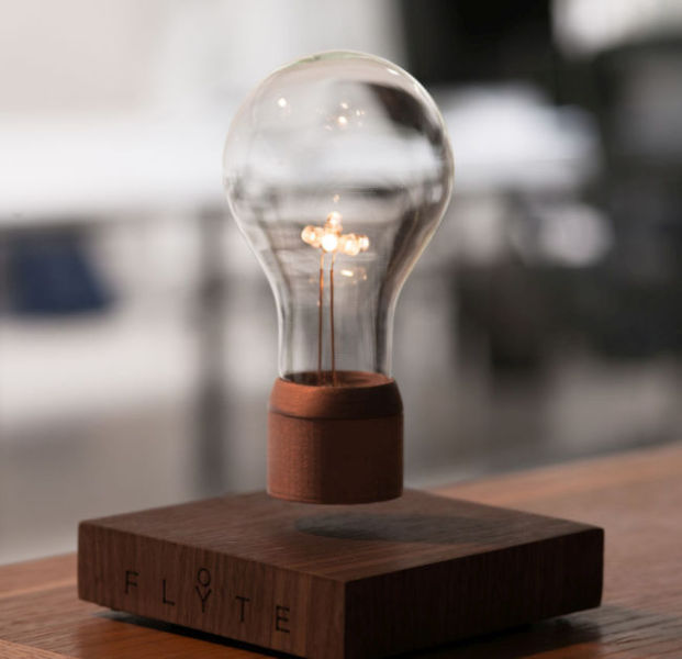 An Incredible Lightbulb That Levitates