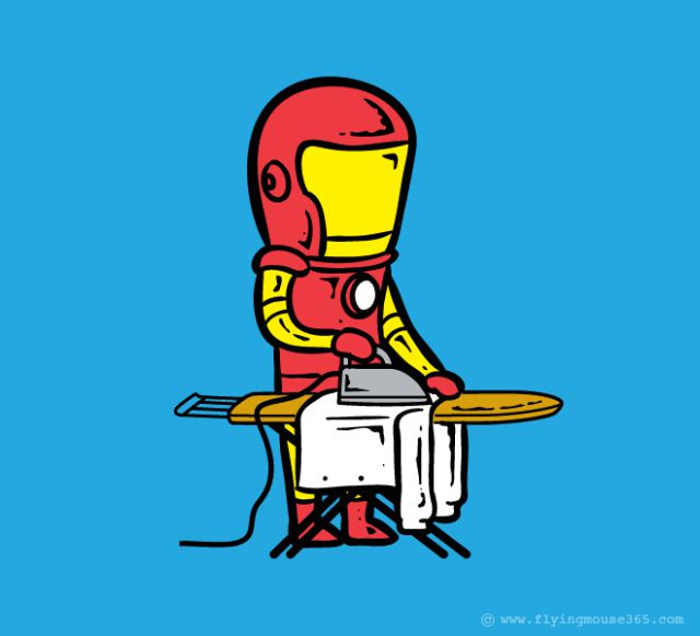 If Superheroes Worked for a Living This Is What They Would Do